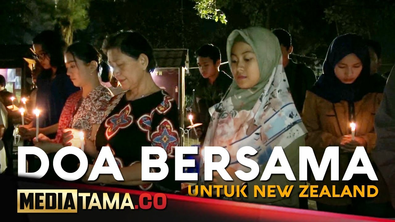 Video Penembakan Di New Zealand Photo: VIDEO: Pelita Gelar Doa Bersama Untuk Korban Penembakan Di