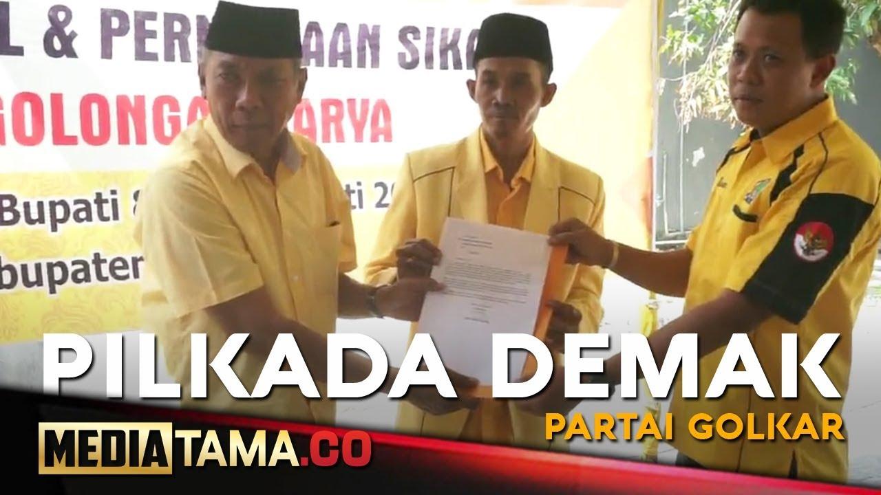VIDEO: Pilkada Demak, Golkar Pinang Joko Sutanto