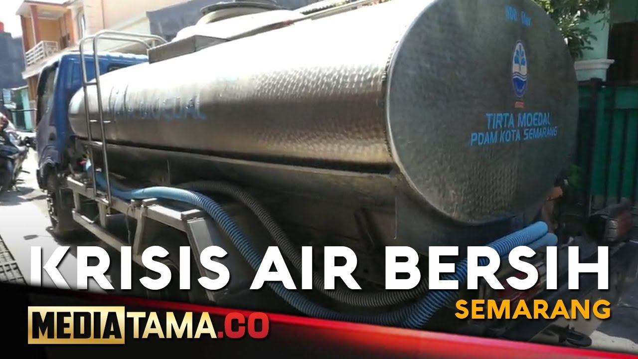 VIDEO: Ratusan Warga di Semarang Alami Krisis Air Bersih