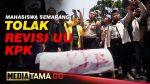 VIDEO : MAHASISWA SEMARANG BAWA KERANDA TOLAK REVISI UU KPK