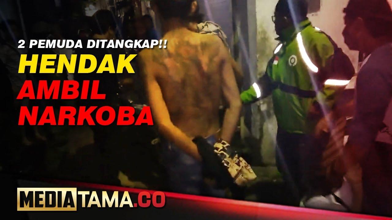 VIDEO : AMBIL PESANAN SABU, DUA PEMUDA DITANGKAP POLISI
