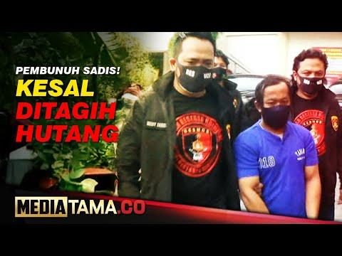 VIDEO : PembunuhSADISS!! Kesal Gara-gara Ditagih HUTANG