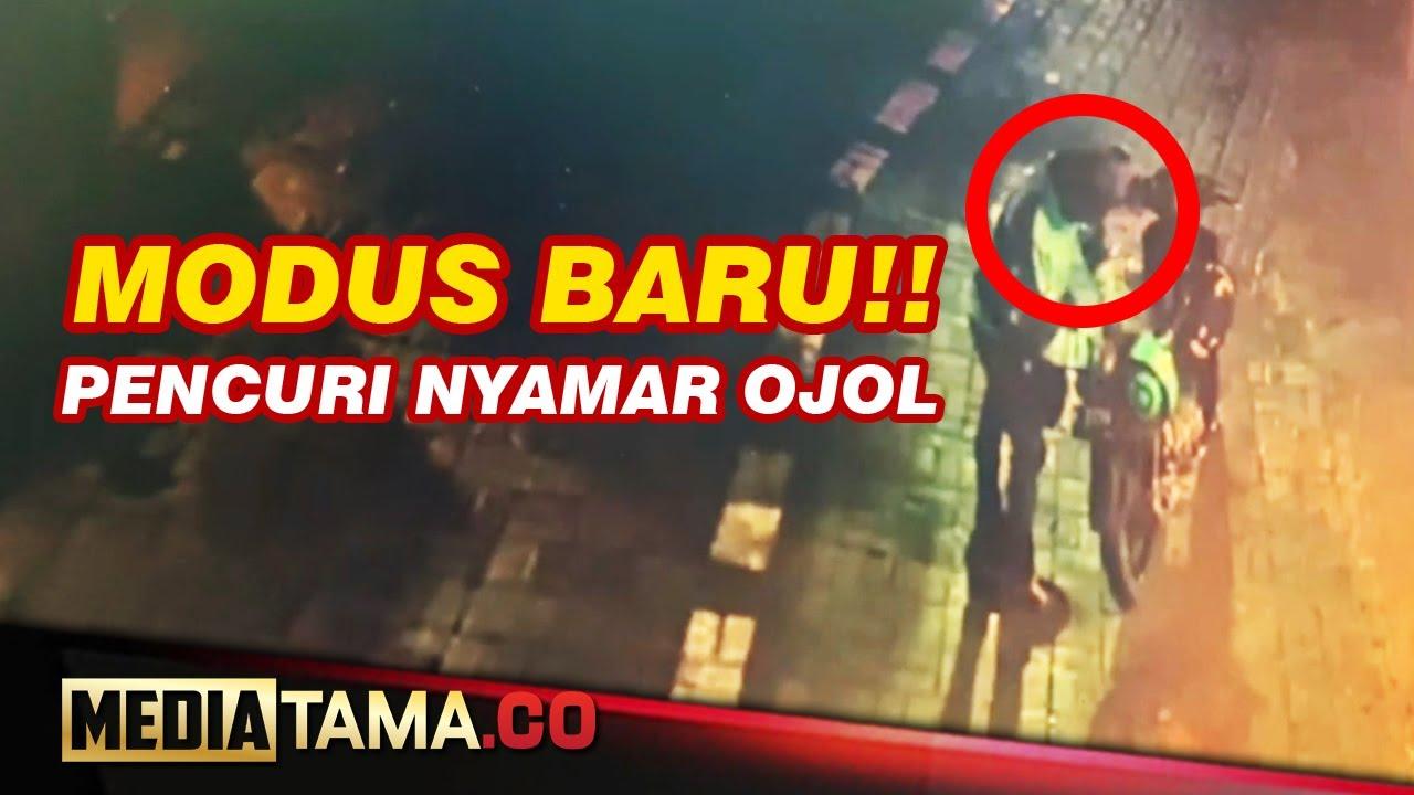 VIDEO : PENCURI BURUNG NYAMAR JADI DRIVER OJOL