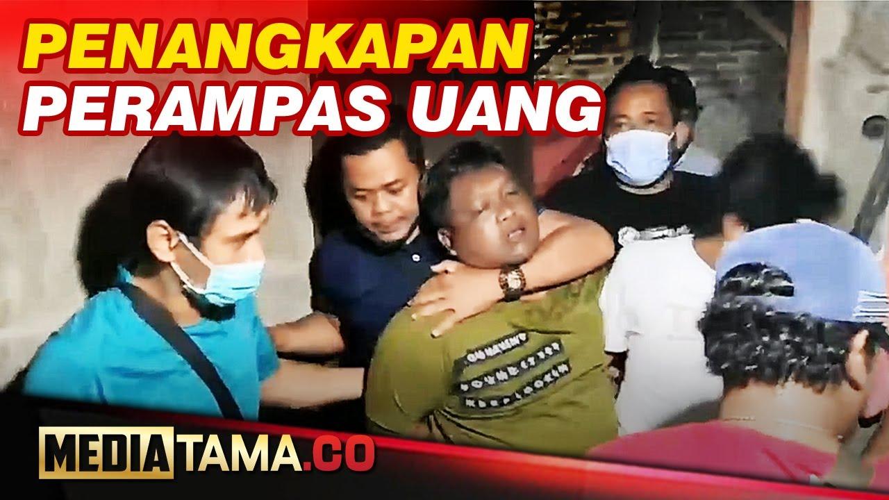 VIDEO : PENANGKAPAN PELAKU PERAMPOKAN UANG TOKO EMAS